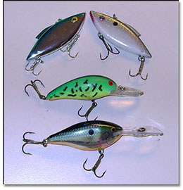 Harris Chain Crankbait Lures for Bass