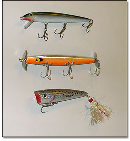 Harris Chain Top Water Lures for Bass
